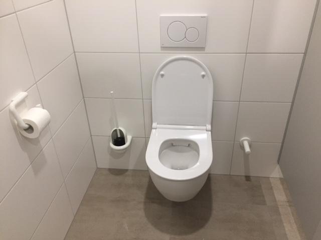 Sanitärinstallation: Gäste-WC